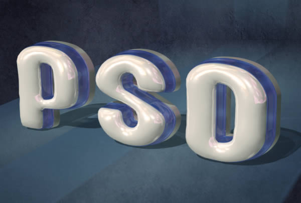3d text effect tutorial to enhance your photoshop skills.