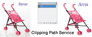 transfer clipping path